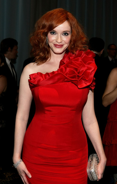all photos of Christina Hendricks in this socially oriented